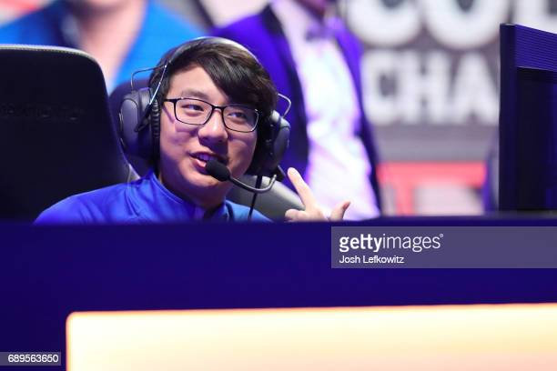 Alvin Ngo of the University of Toronto at the League of Legends College Championship match between Maryville University and the University of Toronto...