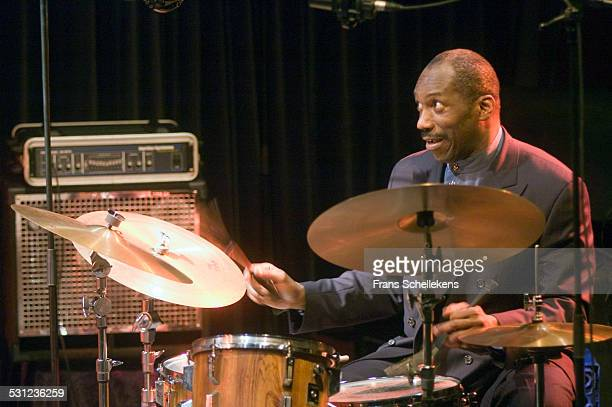 Alvin Queen, drums, performs on November 8th 20054 at the BIM huis in Amsterdam, Netherlands.