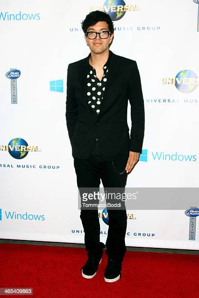 Alvin Risk attends the Universal Music Group 2014 post GRAMMY party held at The Ace Hotel Theater on January 26 2014 in Los Angeles California