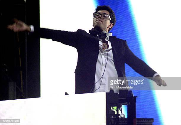 Alvin Risk performs at the Bill Graham Civic Auditorium on September 16 2015 in San Francisco California