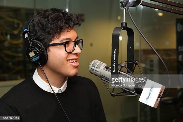 Alvin Risk visits SiriusXM Studios on November 10 2014 in New York City