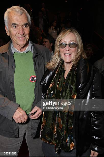 Alvin Sargent and Laura Ziskin at the Los Angeles Premiere of Miramax The Diving Bell and The Butterfly at the ArcLight Theatre on November 8 2007 in...