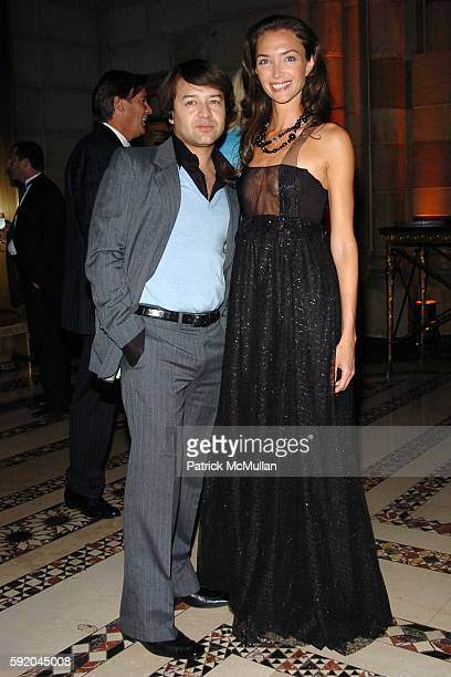 Alvin Valley and Olivia Chantecaille attend New Yorkers For Children 10th Anniversary Fall Gala at Cipriani 42nd Street on September 21 2005 in New...