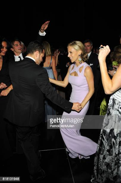 Alvin Valley and Tory Burch attend Silver Hill Hospital 80th Anniversary Gala at Cipriani 42nd Street on November 11 2010 in New York City
