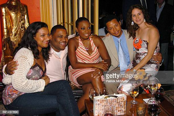 Alvina Anderson Anthony Anderson Star JonesReynolds Terrence Howard and Lori Howard attend Hamptons Film Festival and Elle Magazine present a special...