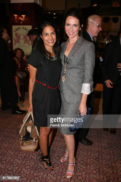 Alvina Patel and Janie Bryant attend The launch of True Prep at Brooks Brothers on September 14 2010 in New York