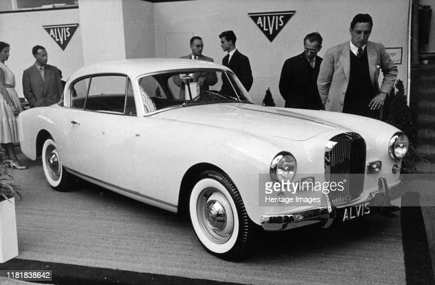 Alvis TC108/G by Graber at Geneva show Creator Unknown