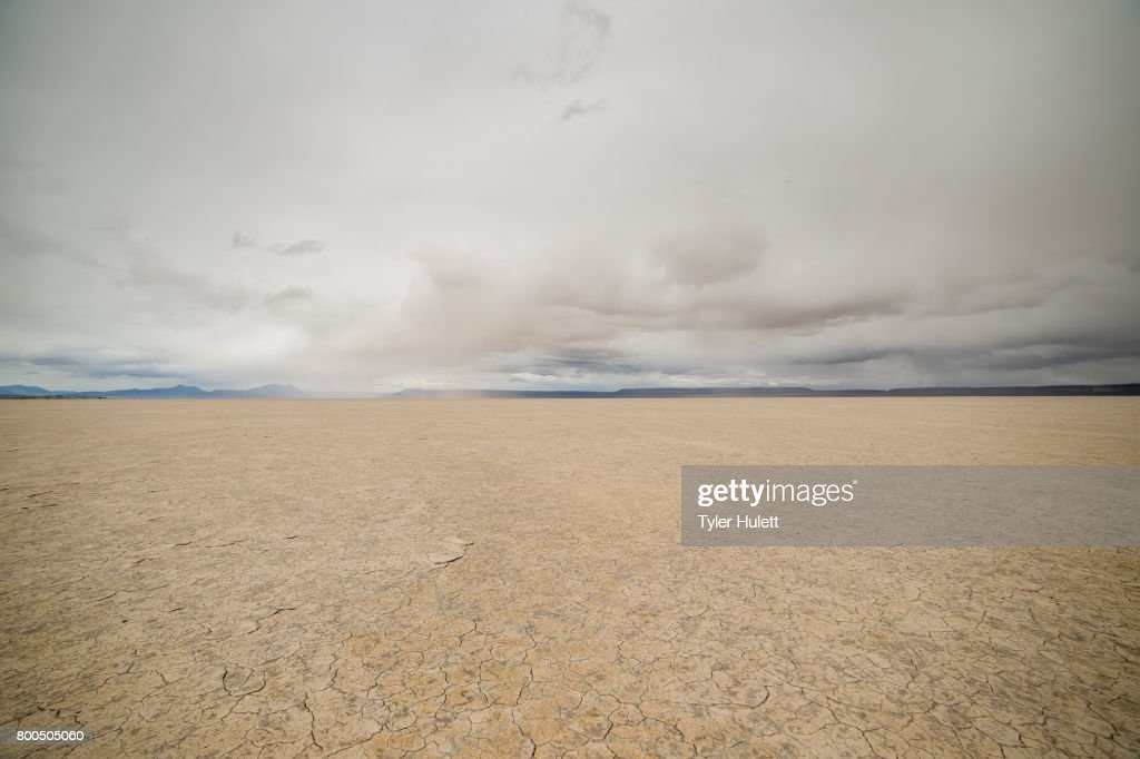 Alvord Desert Playa : Stock Photo