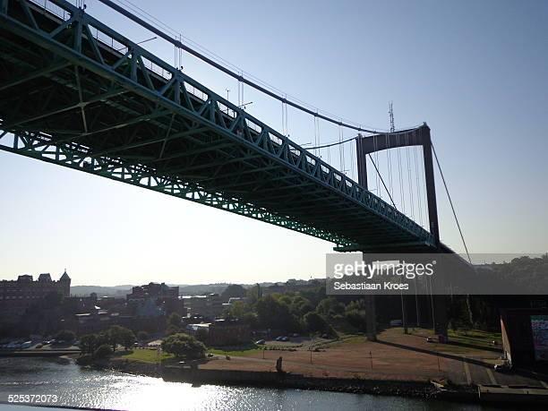 alvsborg bridge - västra götaland county stock pictures, royalty-free photos & images