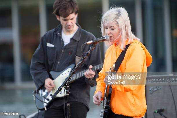 Alvvays performs during Fortress Festival on April 30 2017 in Fort Worth Texas