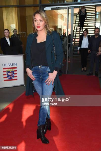Alwara Hoefels attends the Hessian Reception 2017 during the 67th Berlinale International Film Festival Berlin on February 14 2017 in Berlin Germany