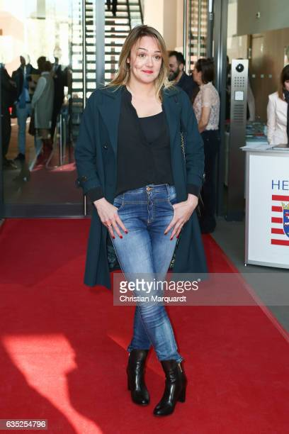 Alwara Hoefels attends the Hessian Reception during the 67th Berlinale International Film Festival Berlin at on February 14 2017 in Berlin Germany