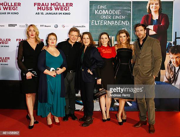 Alwara Hoefels Gabriela Maria Schmeide Justus von Dohnanyi Petra Mueller of Filmstiftung NRW Mina Tander Anke Engelke and Ken Duken attend the...
