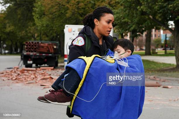 FIRE 'Always a Catch' Episode 709 Pictured Annie Ilonzeh as Emily Foster