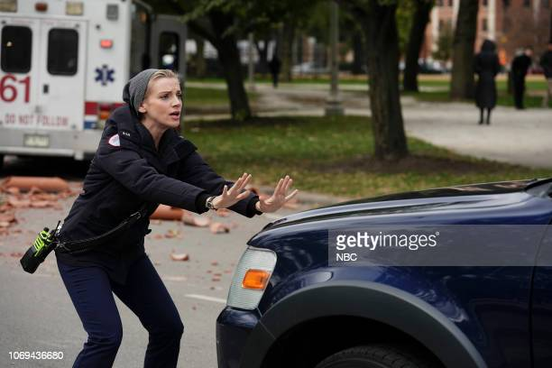 FIRE 'Always a Catch' Episode 709 Pictured Kara Killmer as Sylvie Brett
