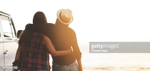 always by your side forever and a day - arm around stock pictures, royalty-free photos & images