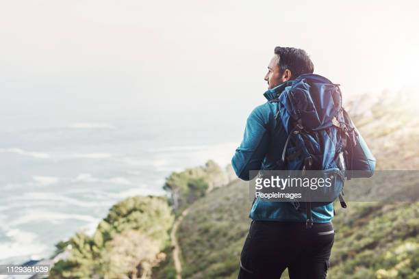 always dare to explore the beauty's nature holds - hiking stock pictures, royalty-free photos & images