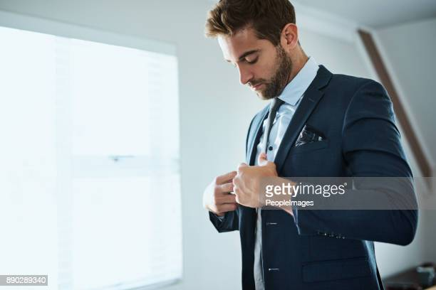 always have to look the part - blue suit stock pictures, royalty-free photos & images