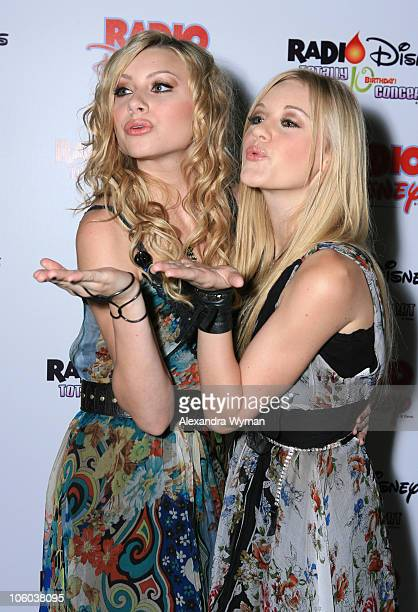 Aly & AJ during Radio Disney Announces Live Webcast of Sold-Out Concert Event - The Radio Disney Totally 10 Birthday Concert at Anaheim Pond in...