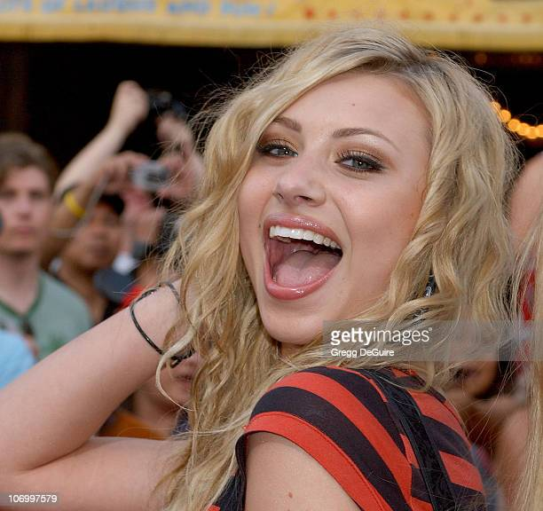 Aly and AJ during World Premiere of Walt Disney Pictures' Pirates of the Caribbean Dead Man's Chest Arrivals at Disneyland in Anaheim California...