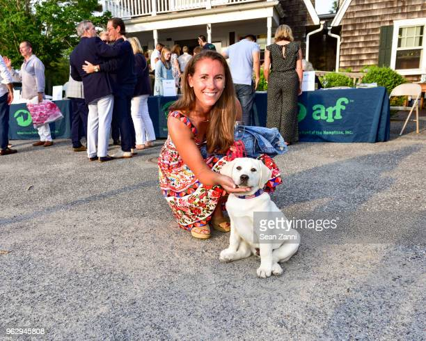 Aly Brady and Max attend ARF Thrift Shop Designer Show House Sale at ARF Thrift Treasure Shop on May 26 2018 in Sagaponack New York