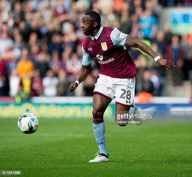 Aly Cissokho of Aston Villa during the Sky Bet Championship match between Preston North End and Aston Villa at Deepdale on October 01 2016 in Preston...