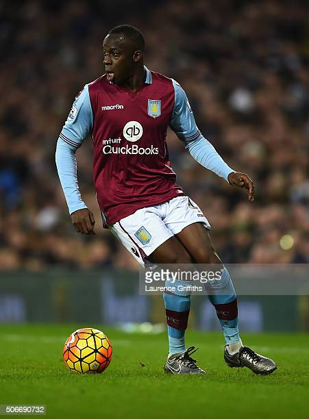 Aly Cissokho of Aston Villa in action during the Barclays Premier League match between West Bromwich Albion and Aston Villa at The Hawthorns on...