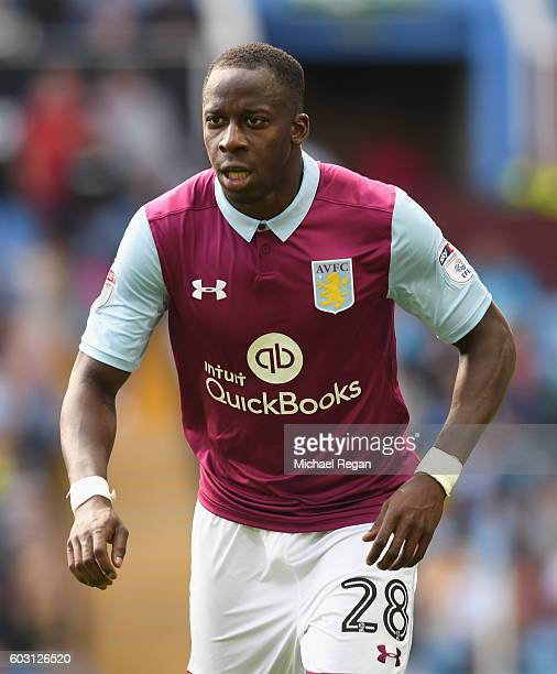 Aly Cissokho of Villa looks on during the Sky Bet Championship match between Aston Villa and Nottingham Forest at Villa Park on September 11 2016 in...