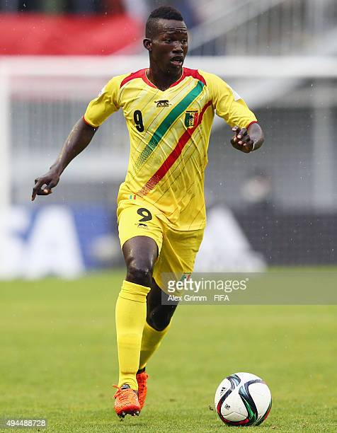 Aly Malle of Mali controles the ball during the FIFA U17 World Cup Chile 2015 Group D match between Mali and Honduras at Estadio Nelson Oyarzun...