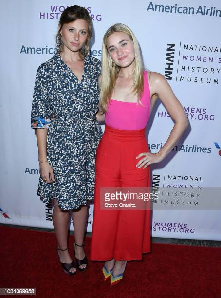 Aly Michalka AJ Michalka arrives at the National Women's History Museum's 7th Annual Women Making History Awards at The Beverly Hilton Hotel on...