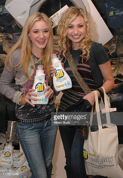 Aly Michalka and AJ Michalka aka Aly AJ at All during Weber Shandwich at Silver Spoon OSCAR Suite at 1660 N Highland Ave in Los Angeles California...