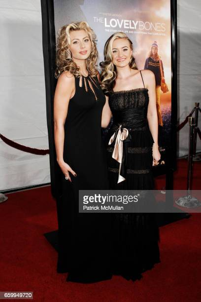 """Aly Michalka and AJ Michalka attend THE LOS ANGELES PREMIERE OF """"THE LOVELY BONES"""" at Grauman's Chinese Theatre on December 7 2009 in Hollywood..."""