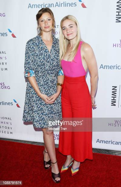 Aly Michalka and AJ Michalka attend the National Women's History Museum's 7th Annual Women Making History Awards held at The Beverly Hilton Hotel on...