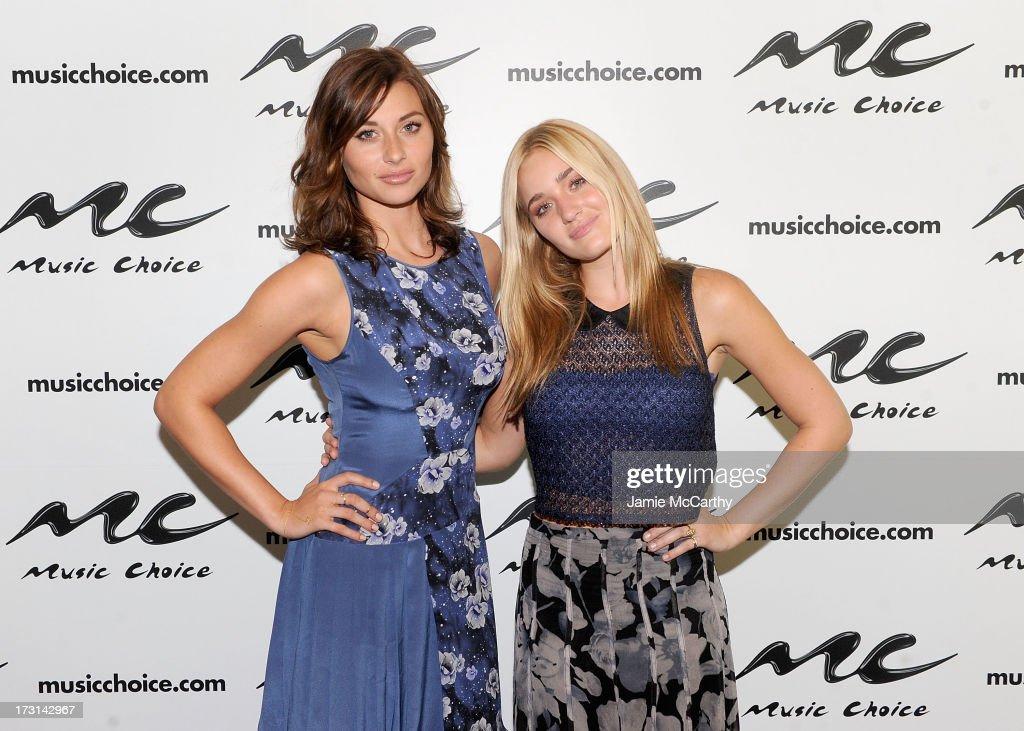 "Aly & AJ Visit Music Choice's ""U&A"""