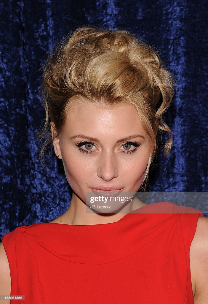 Aly Michalka arrives to Paramount Pictures' 'Super 8' Blu-ray and DVD release party at AMPAS Samuel Goldwyn Theater on November 22, 2011 in Beverly Hills, California.