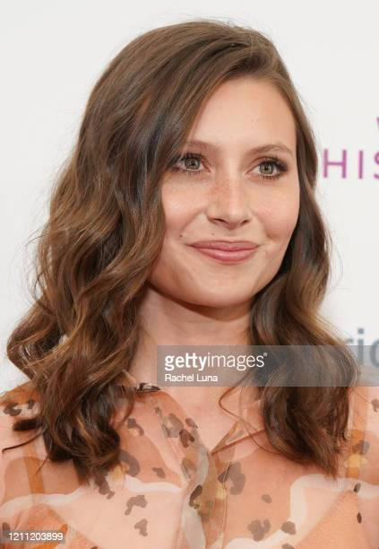 Aly Michalka attends the National Women's History Museum's 8th Annual Women Making History Awards at Skirball Cultural Center on March 08, 2020 in...