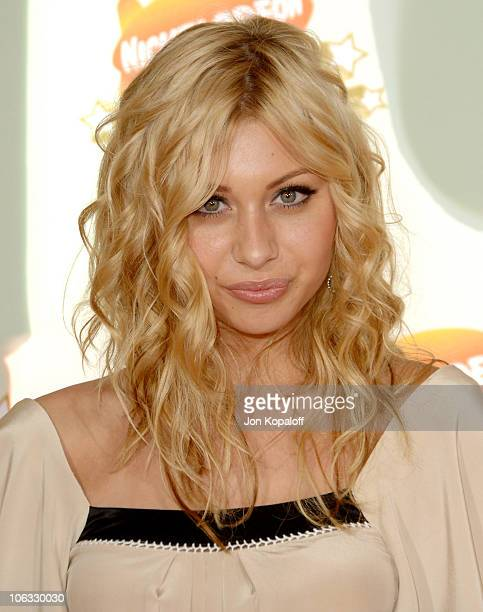 Aly Michalka during Nickelodeon's 20th Annual Kids' Choice Awards Arrivals at Pauley Pavilion UCLA in Westwood California United States