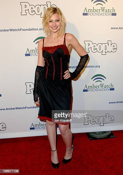 Aly Michalka during The AmberWatch Foundation Launch Party to Increase Awareness for Their Child Abduction Abuse and Molestation Prevention Program...