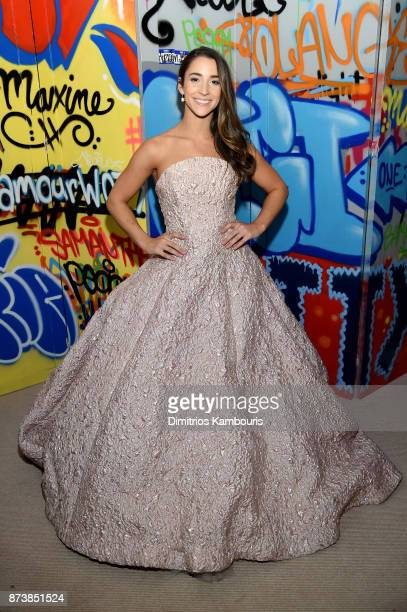 Aly Raisman attends Glamour's 2017 Women of The Year Awards at Kings Theatre on November 13 2017 in Brooklyn New York