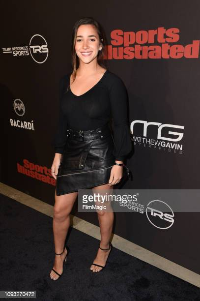Aly Raisman attends Sports Illustrated Saturday Night Lights powered by Matthew Gavin Enterprises and Talent Resources Sports on February 2 2019 in...