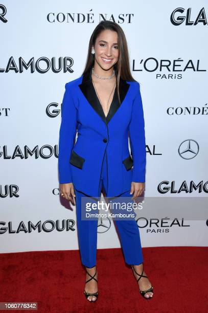 Aly Raisman attends the 2018 Glamour Women Of The Year Awards: Women Rise on November 12, 2018 in New York City.