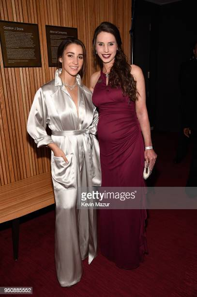 Aly Raisman attends the 2018 Time 100 Gala at Jazz at Lincoln Center on April 24 2018 in New York CityÊ