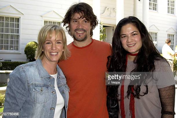 Alyce Alston Vice President and Publisher of W Magazine Peter Reckell of Days of Our Lives and Kelly Moneymaker