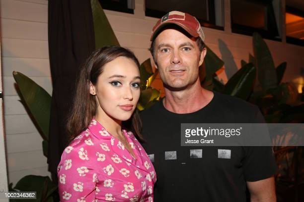 Alycia DebnamCarey and Garret Dillahunt attend AMC's 'Better Call Saul' Premiere during Comic Con 2018 at UA Horton Plaza on July 19 2018 in San...