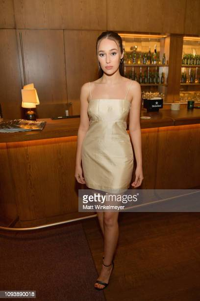 Alycia DebnamCarey attends The Hollywood Reporter's 7th Annual Nominees Night presented by MercedesBenz Century Plaza Residences and Heineken USA at...