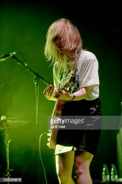 Alynda Lee Segarra of Hurray for the Riff Raff performs on stage at Razzmatazz on July 16 2018 in Barcelona Spain