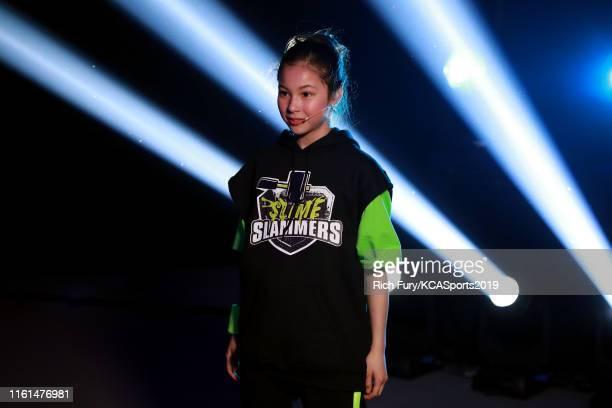 Alysa Liu attends Nickelodeon Kids' Choice Sports 2019 at Barker Hangar on July 11 2019 in Santa Monica California