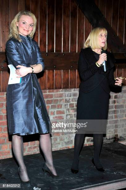Alyse Nelson and Julie Iscol attend VITAL VOICES Event at The Bowery Hotel on January 19 2010 in New York City