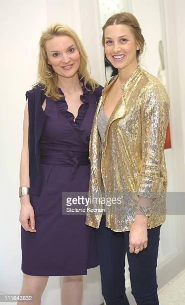 Alyse Nelson and Whitney Port attend Diane Von Furstenberg and Elle's Celebration of International Women's Month on March 23 2009 in West Hollywood...