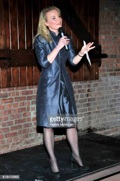 Alyse Nelson attends VITAL VOICES Event at The Bowery Hotel on January 19 2010 in New York City